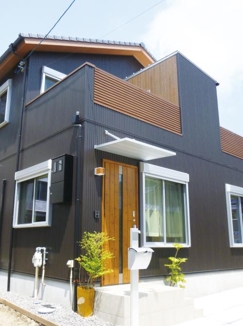 滋賀県雁瀬工務店が建てた、低層景観地域の京都の家