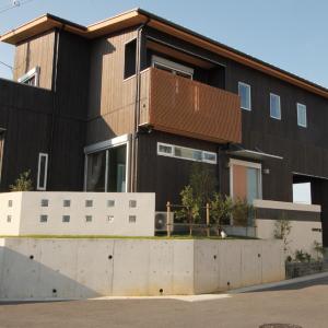 滋賀県雁瀬工務店が建てた、木の質感と匠の技がコラボした北欧風の住まい 外観