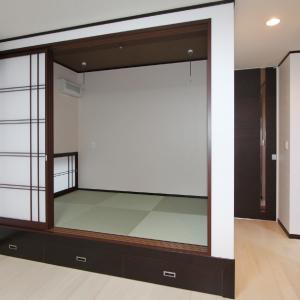 滋賀県雁瀬工務店が建てた、土地に合わせた和風な住まい 和室
