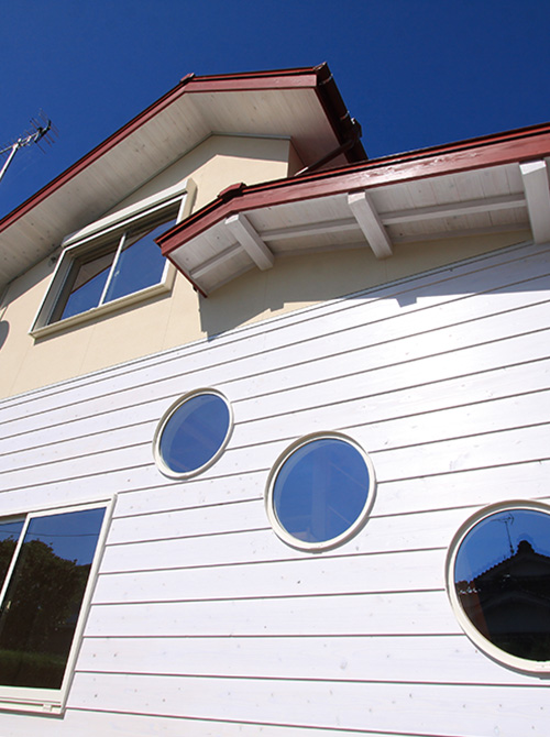 滋賀県雁瀬工務店が建てたレトロな家