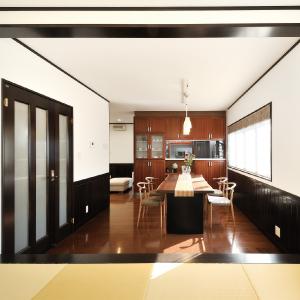 滋賀県雁瀬工務店が建てた、将来を考えた上質な住まい LDK