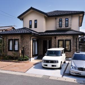 滋賀県雁瀬工務店が建てた、将来を考えた上質な住まい 外観