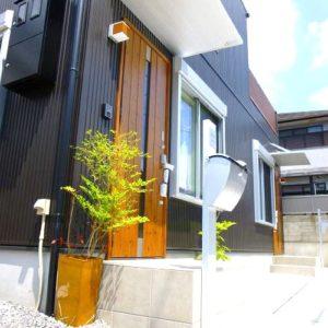 滋賀県雁瀬工務店が建てた、低層景観地域の京都の家 外観