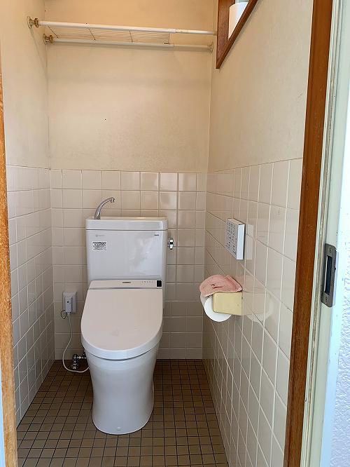 大津トイレ改装丁寧な作業でキレイな仕上り