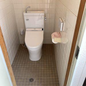 新規トイレ設置