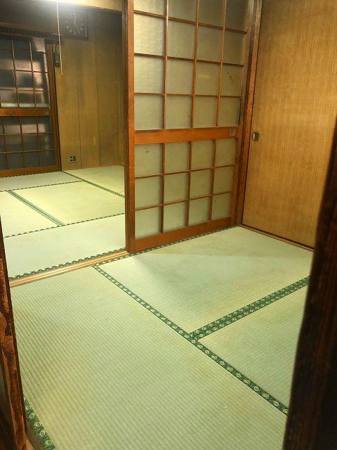 京都の長屋床下修繕、改装工事が完了!