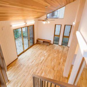 木のぬくもりに包まれる家 LDK