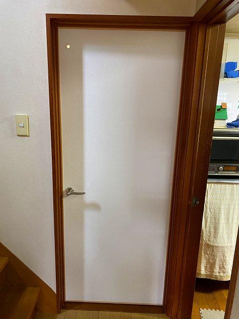 滋賀県草津市で、床と扉、壁のリフォームが完了!