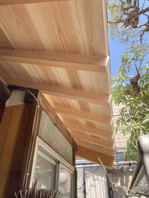 京都市北区の屋根改修リフォーム工事