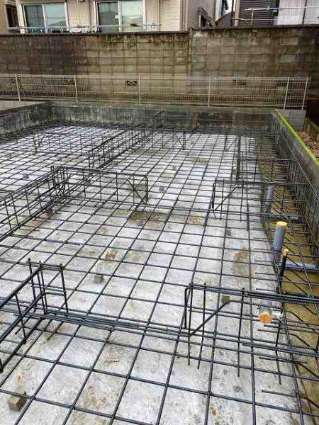 滋賀県雁瀬工務店が建てる家の配筋検査