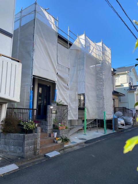 滋賀県草津市で屋根の上張りと外壁リフォーム
