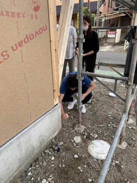 滋賀県草津市新築物件、上棟式
