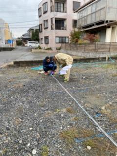 滋賀県草津市の草津OMパレス共同住宅、地盤改良