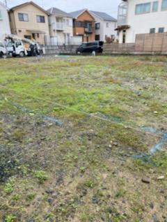 滋賀草津市の草津OMパレス共同住宅、地盤改良