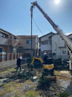 滋賀草津で着工した新築物件、草津OMパレス共同住宅