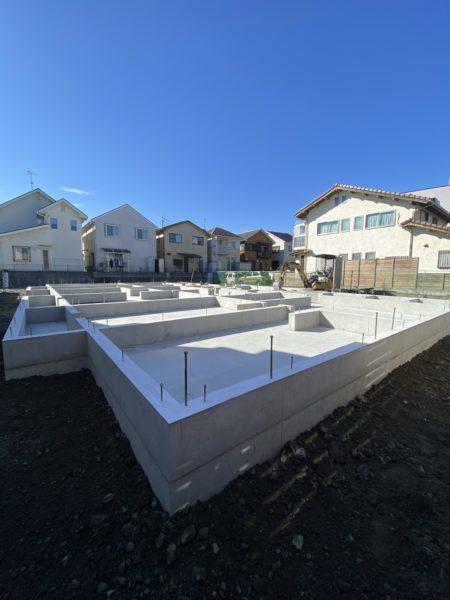 滋賀県草津で木造二階建て共同住宅新築工事