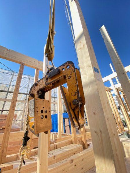 滋賀県草津で木造新築物件、上棟!