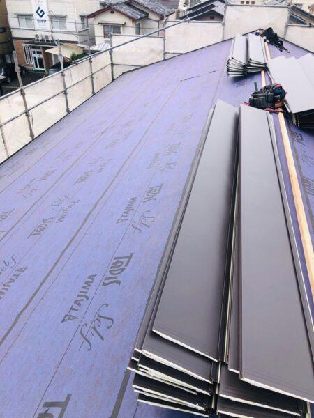 滋賀草津市で外壁塗装、屋根のリフォーム工事が着工
