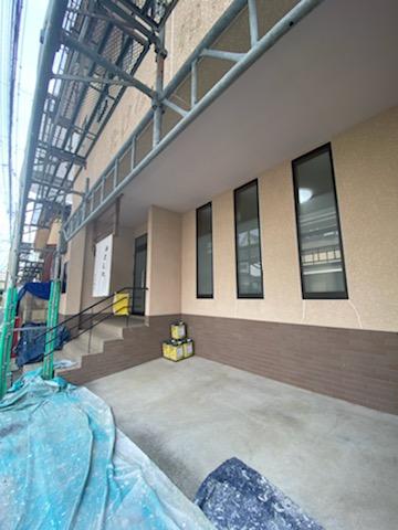 滋賀草津市で外壁塗装リフォーム工事
