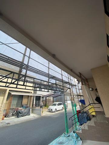 滋賀草津で外壁塗装のリフォーム工事