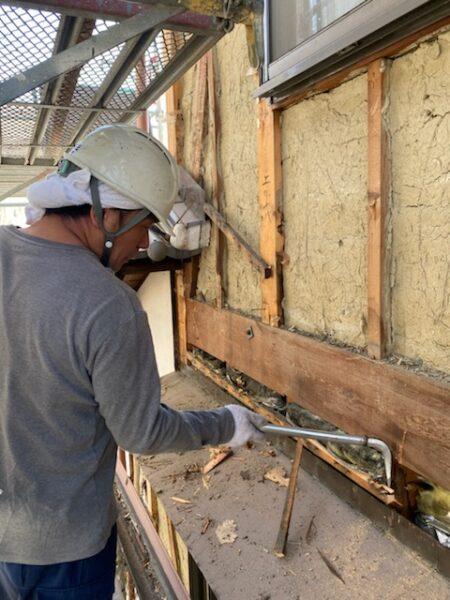 滋賀県草津市で外壁張替えリフォーム工事