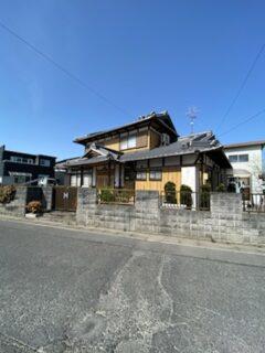 滋賀県野洲市の外壁張替え、壁塗装リフォーム工事