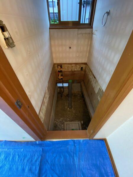滋賀県草津市のトイレ改修リフォーム工事