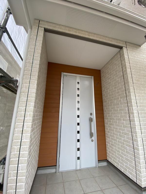 滋賀県草津市の外壁張替リフォーム工事