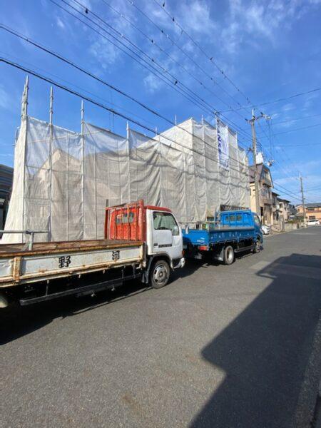 滋賀県草津市の外壁塗装リフォーム工事
