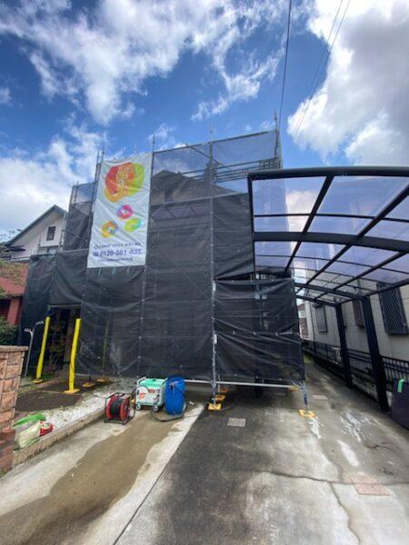 滋賀守山市で外壁・屋根塗装リフォーム工事