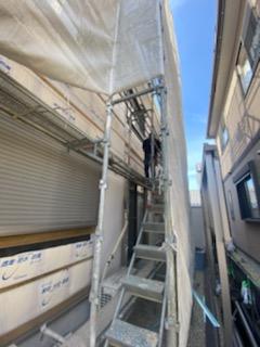 滋賀県草津市の外壁張替えリフォーム工事