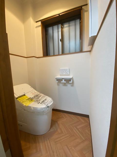 滋賀県草津市のトイレリフォーム工事