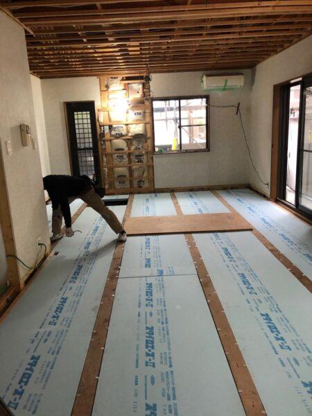 滋賀県守山市でLDK改修リフォーム工事