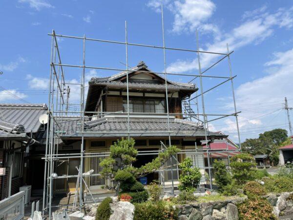 滋賀甲賀市の屋根のリフォーム工事