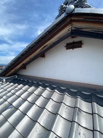 滋賀草津市の木部塗装リフォーム工事