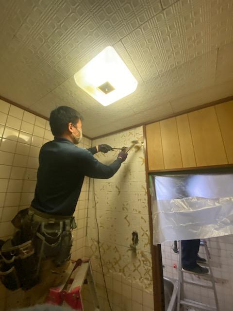 滋賀県草津の浴室改修リフォーム工事