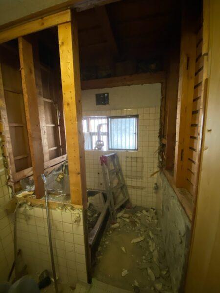 滋賀草津の浴室改修リフォーム工事