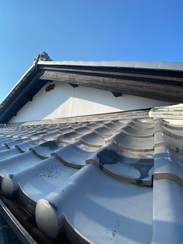 滋賀県草津市の木部塗装リフォーム工事