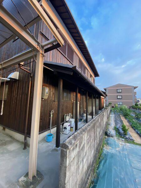 滋賀草津市の外壁改修リフォーム工事