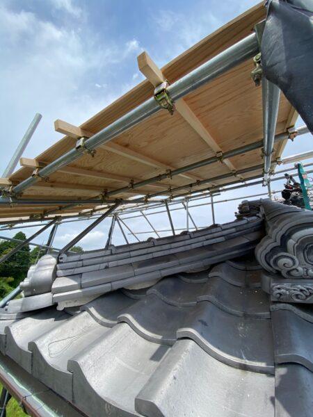 滋賀県甲賀市の屋根修繕リフォーム工事