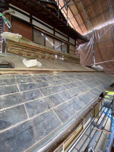 滋賀県甲賀市の屋根改修リフォーム工事
