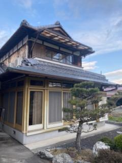 滋賀県甲賀市の雨漏り修繕リフォーム工事が着工!