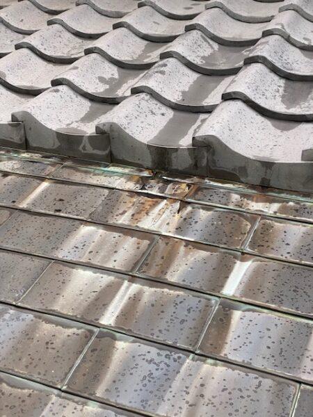 滋賀県甲賀市の屋根のリフォーム工事