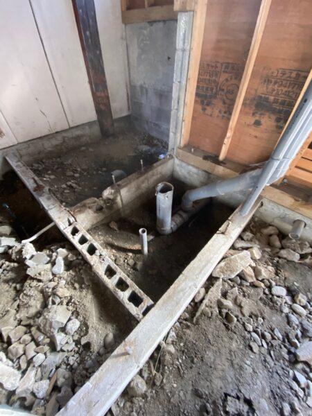 滋賀県守山市の鉄骨物件リフォーム工事
