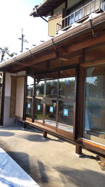 滋賀甲賀市のサッシ交換リフォーム工事