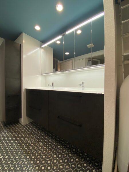 滋賀大津市のマンション物件。洗面所改修、リフォーム工事