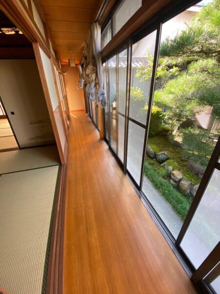 滋賀草津市の縁甲板張替リフォーム工事